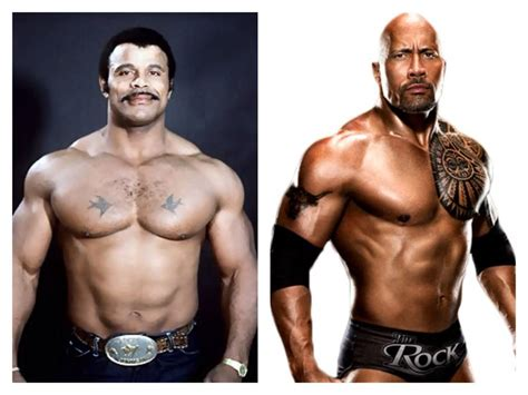 Rok Rocky rocky johnson left the rock right of legends