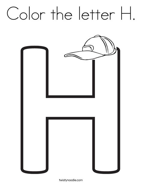 letter h coloring pages preschool preschool coloring pages letter h murderthestout