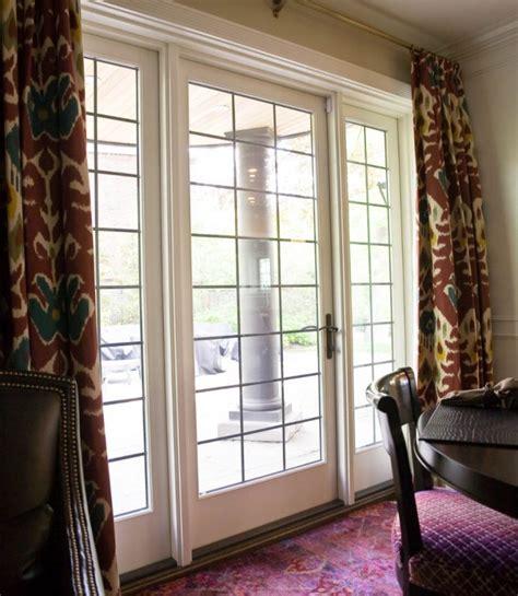 leaded glass french doors white fieldstone windows