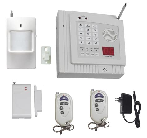 wireless home security burglar alarm system detector