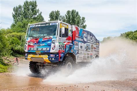 rally truck suspension r 252 ckblick rallye dakar 2016 fahrzeuge mit vb