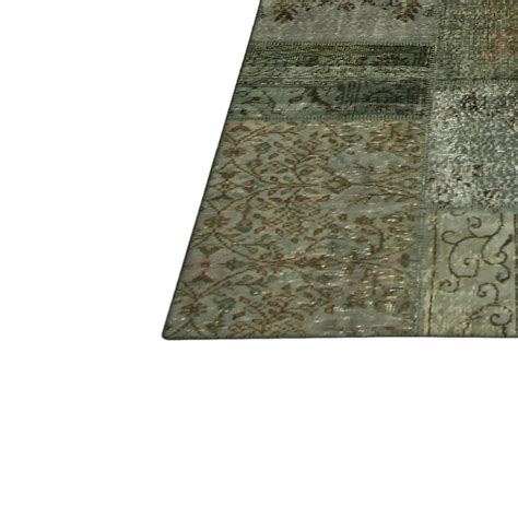 Vintage Patchwork Rugs - grey vintage patchwork rug 405x307cm