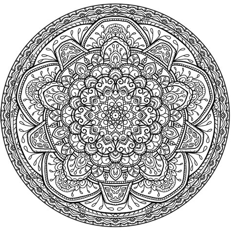 Circles Mandala 5 By Welshpixie On Deviantart Mandala Circles Coloring Pages