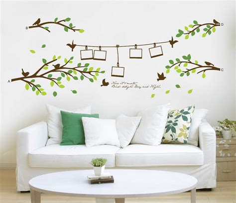 home wall decor family tree wall decal remove wall stick photo tree wall