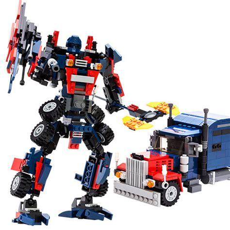 Bricks Robot 4 In 1 Combination Transform Toys Mainan Lb058 buy wholesale robots lego from china robots lego