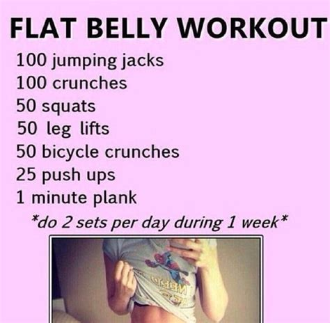 best 25 flat tummy in 2 weeks workout ideas on