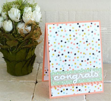 make a congratulations card diy card easy congratulations cards i