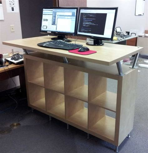 Adjustable Standing Desk Diy Best 25 Standing Desks Ideas On Sit Stand Desk Computer Stand For Desk And Diy