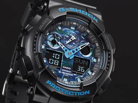 D Ziner 8090 G Shock Gpw 1000 live photos g shock 2016 black x blue hue