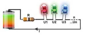 led dioda upor pravi upor in baterija za led projekt domači mojster