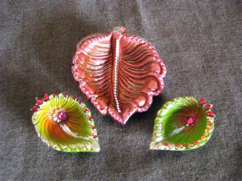 Handmade Diwali Diyas - handmade diyas diwali 2013 payal mithal