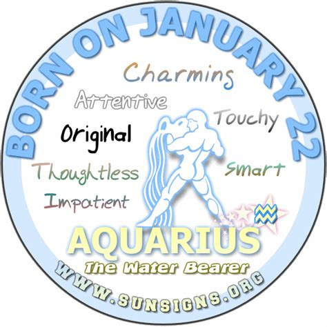 january 22 birth date meaning january 22 horoscope birthday personality sun signs