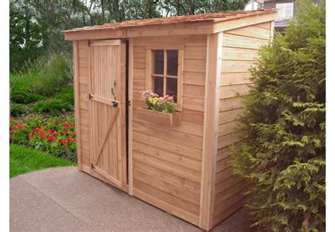 Outdoor Living Garden Shed by Outdoor Living Today 8x4 Spacesaver Storage Shed Ss84