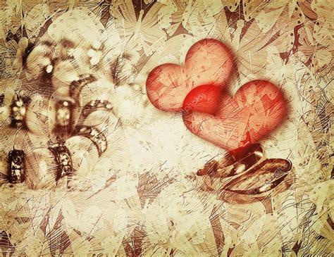 imagenes vintage love vintage love background with wedding rings stock photo
