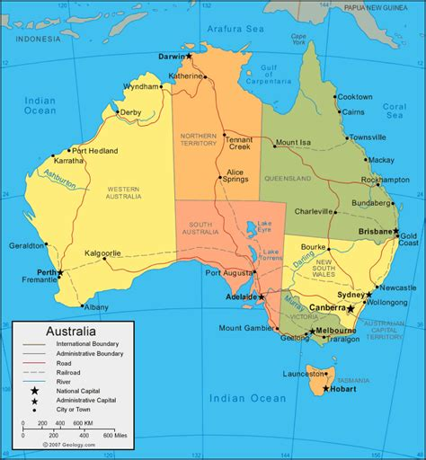australia in world map map of world region city