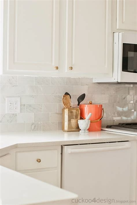 Backsplash With Marble Countertops New Backsplash With The Tile Shop Cuckoo4design