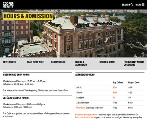 Fiu Admissions Office Hours by Cooper Hewitt 2014 Branding Wayfinding Website Fonts
