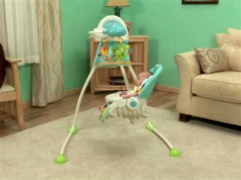 fisher price nature s touch cradle swing recall he loves his precious planet swing doovi