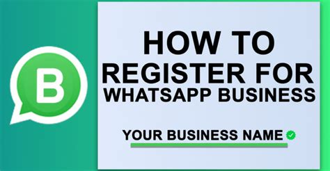 how to register your how to register for whatsapp business now nusify