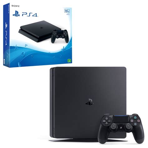 ps 4 console playstation 4 slim 500gb console the gamesmen
