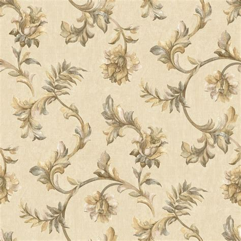 jacobean wallpaper for walls the wallpaper company 56 sq ft neutral jacobean tapestry