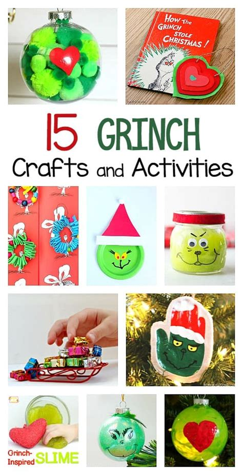 grinch crafts  activities  kids buggy  buddy