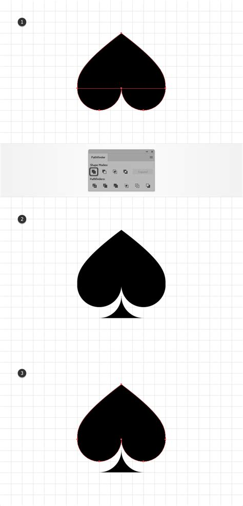 paste pattern into shape illustrator how to create a card suits pattern in adobe illustrator