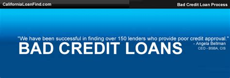 Find Loans For With Bad Credit Bad Credit Loans All The Rage