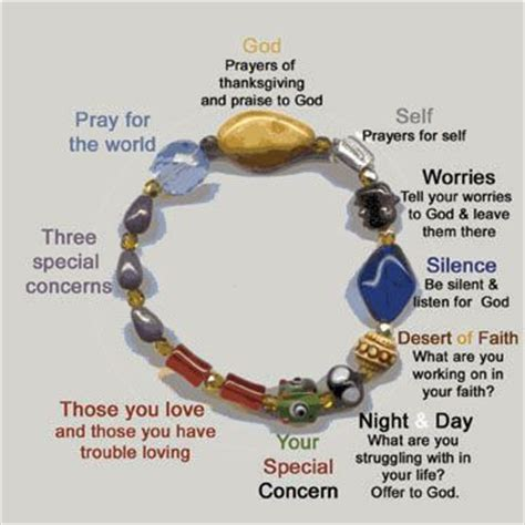 how to make a prayer bead bracelet 17 best ideas about prayer on youth