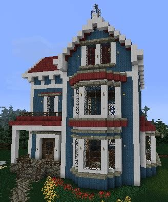 Manor House Plans by Victorian House Minecraft Project