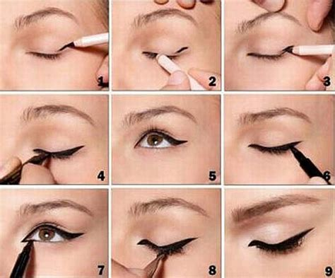 tutorial on eyeliner application 37 winged eyeliner tutorials page 2 of 4 the goddess