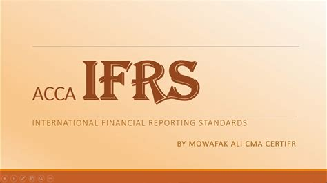 Of Iowa Removing Mba by Acca Certifr Ifrs 2017