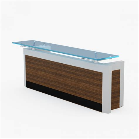 Contemporary Reception Desk Contemporary Reception Desk 3d Model Cgstudio