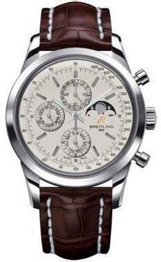 breitling transocean chronograph 1461 mercury silver