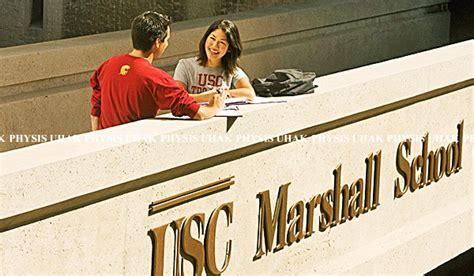 Of Southern California Marshall School Of Business Mba by Mba Usc마샬 Usc 마샬경영대학원 서던캘리포니아대학교 Mba Of