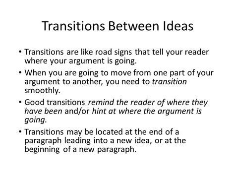 Transition Words For Essays Between Paragraphs by Paper Rater How To Transition Between Ideas
