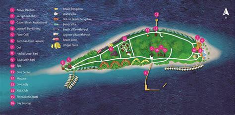 reethi island resort map dhigali maldives island map kuoni travel
