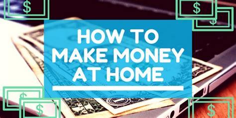 How Make Money At Home Online - blog