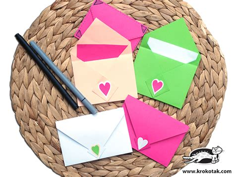 How To Make Origami Envelopes - how to make origami envelope diy crafts handimania
