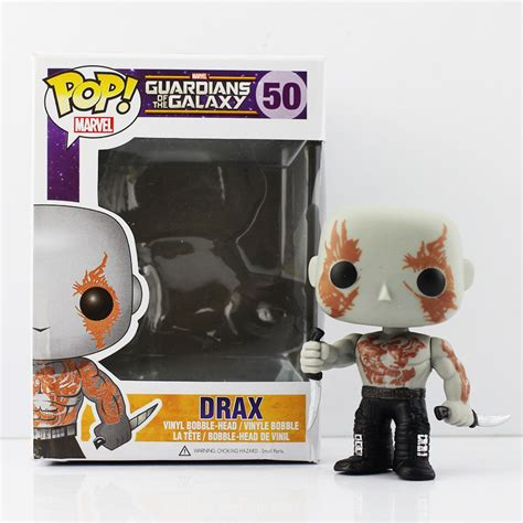 Funko Pop Guardian Of Galaxy Drax pop funko guardians of the galaxy the destroyer drax pvc figure doll q version gift for
