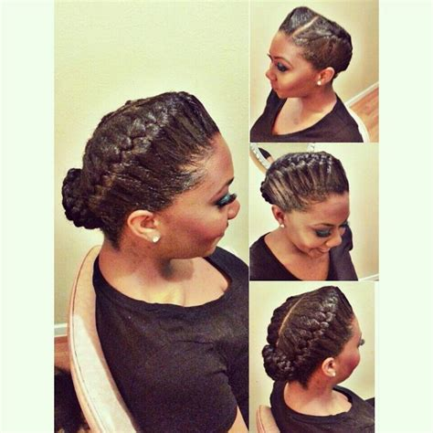 pictures of goddess braids on black women goddess braids neatly done goddess halo braid