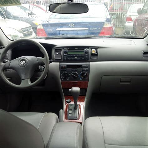 Toyota Corolla 2007 Interior by Sold Toyota Corolla Le 2007 Leather Interior Autos Nigeria