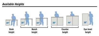 standard desk height designing an efficient modular drawer storage cabinet