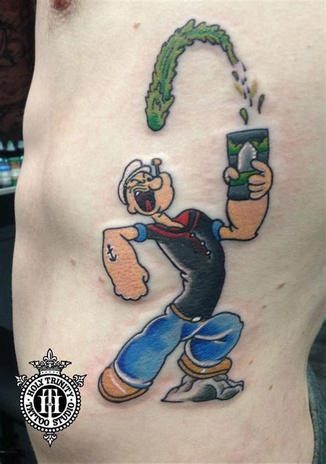 popeye tattoo designs 13 best popeye tattoos images on popeye
