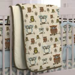 Owls Crib Bedding Retro Owls Crib Bedding Owl Print Crib Bedding Carousel Designs