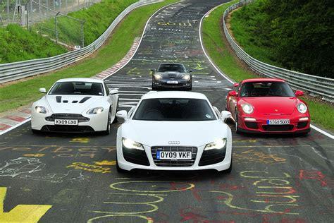 Audi R8 Vs Porsche Gt3 by 911 Gt3 V Vantage V12 V R8 V10 V Corvette Zr1 Evo
