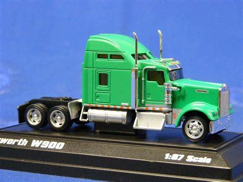 kenworth w900 model buffalo road imports kenworth w900 tractor sleeper green