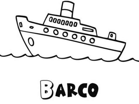 barco moderno dibujo dibujos de un crucero para colorear dibujos de barcos