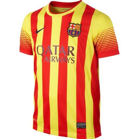 barcelona youth jersey barcelona 13 14 youth away jersey