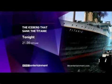 Iceberg For Promo entertainment the iceberg that sank the titanic
